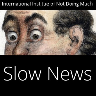 slow news banner