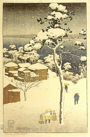 Japanese Winter Scene