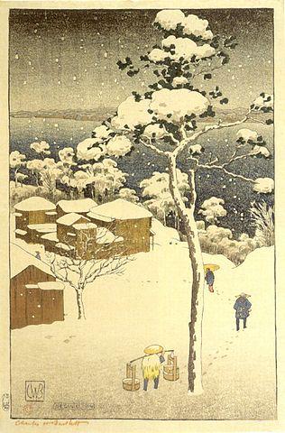 Japanese Winter Scene